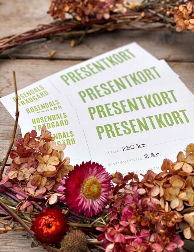 Presentkort | Rosendals Trädgård